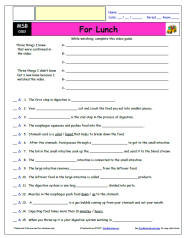 FREE Differentiated Worksheet for the Magic School Bus * - For Lunch ...