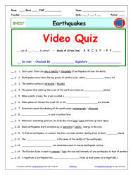 Worksheets Bill Nye Waves Worksheet video guide word banks answer sheets and quizzes individual quiz